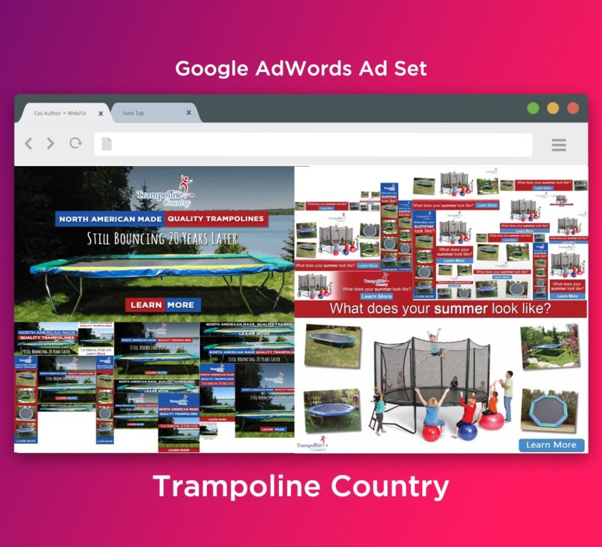 Trampoline Country Ads